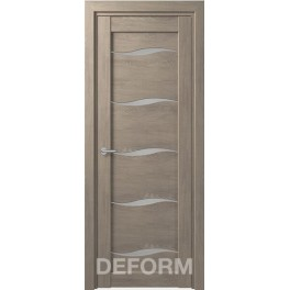Межкомнатная дверь экошпон DEFORM D1