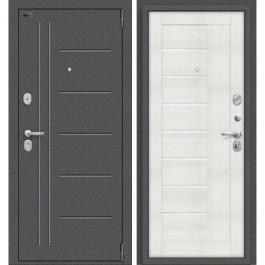 Дверь входная металлическая Эльпорта PORTA S109.П29 (Антик Серебро/ Bianco Veralinga)