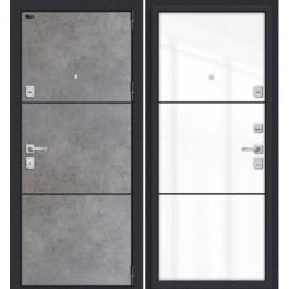 Дверь входная металлическая Эльпорта PORTA M П50.П50 (AB-4) (Dark Concrete/Angel)