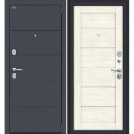 Дверь входная металлическая Эльпорта PORTA S4.Л22 (Graphite Pro/Nordic Oak)