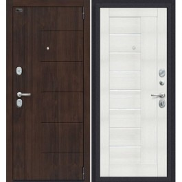 Дверь входная металлическая Эльпорта PORTA S9.П29 (Almon 28/Bianco Veralinga)