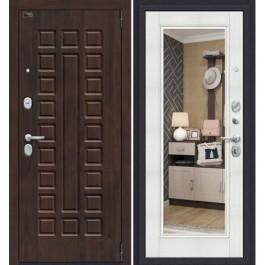 Дверь входная металлическая Эльпорта Porta S 51.П61 Almon 28/Bianco Veralinga