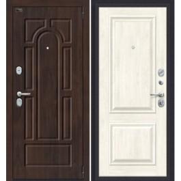 Дверь входная металлическая Эльпорта Porta S 55.K12 Almon 28/Nordic Oak
