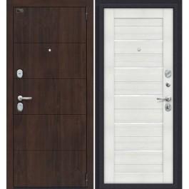 Дверь входная металлическая Эльпорта PORTA S4.П22 (Almon 28/Bianco Veralinga)