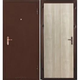 Дверь входная металлическая Эльпорта   Ультра Лайт   (цвет беленый дуб)