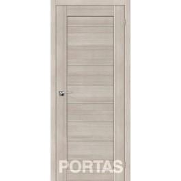 Межкомнатная дверь Портас S 20 лиственница крем