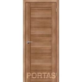 Межкомнатная дверь Портас S 20 орех карамель