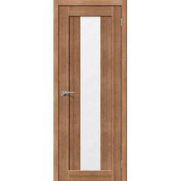 Межкомнатная дверь Портас S 25 орех карамель