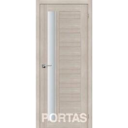 Межкомнатная дверь Портас S 28 лиственница крем