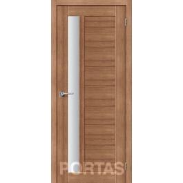 Межкомнатная дверь Портас S 28 орех карамель