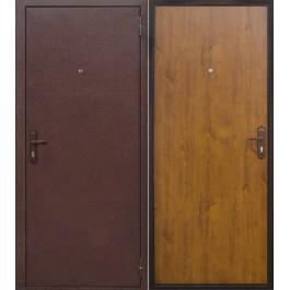 Дверь входная Йошкар Стройгост 5-1 зол.дуб