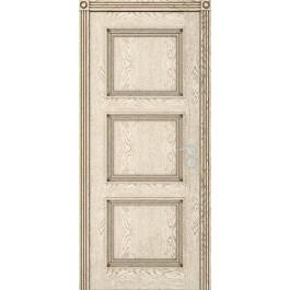Межкомнатная дверь Юркас Квадро дг эмаль ваниль