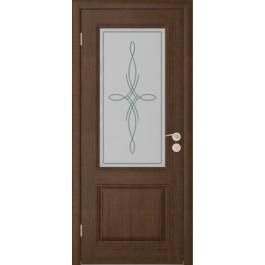 Межкомнатная дверь Юркас Шервуд 2 до каштан