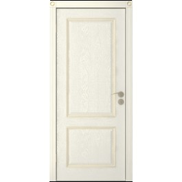 Межкомнатная дверь Юркас Шервуд 3 дг эмаль крем
