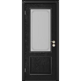 Межкомнатная дверь Юркас Шервуд 3 до эмаль черная