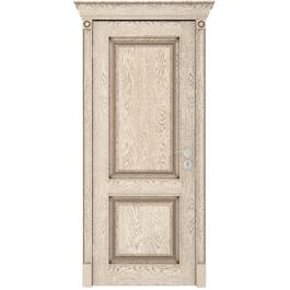 Межкомнатная дверь Юркас Валенсия дг эмаль ваниль