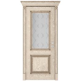 Межкомнатная дверь Юркас Валенсия до эмаль ваниль