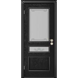 Межкомнатная дверь Юркас  Вена до эмаль черная
