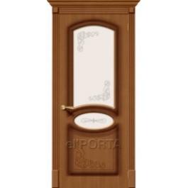 Межкомнатная дверь шпон файн-лайн elPORTA Азалия до
