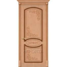 Межкомнатная дверь шпон файн-лайн elPORTA Азалия дг