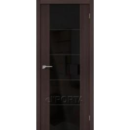 Межкомнатная дверь экошпон elPORTA V4 Black Star