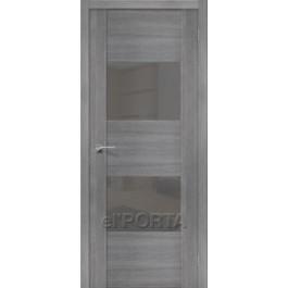 Межкомнатная дверь экошпон elPORTA VG2 Smoke