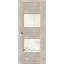 Межкомнатная дверь экошпон elPORTA VG2 White Pearl