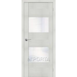 Межкомнатная дверь экошпон  elPORTA VG2 White Waltz